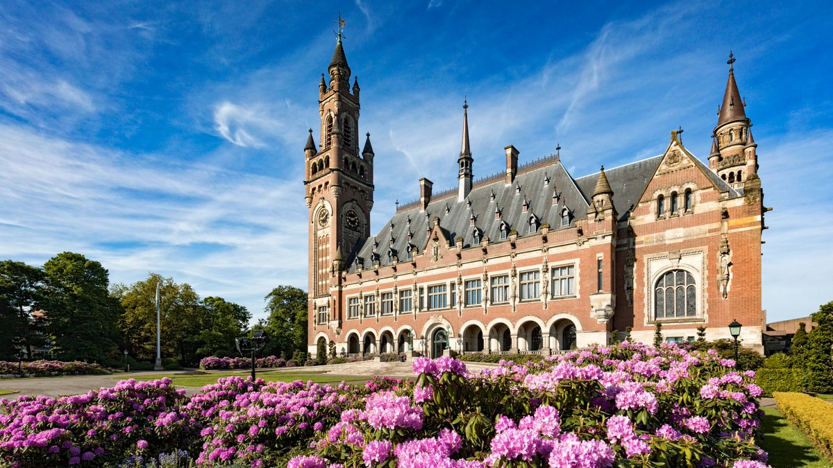 Image result for peace palace the hague""